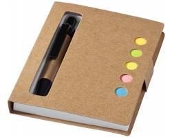 Samolepicí zápisník SKINS se 2 doplňky - přírodní