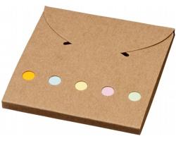 Sada barevních samolepicích bločků TUBBY - přírodní