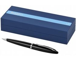 Dřevěné lakované kuličkové pero Waterman CARENE BALLPOINT - černá