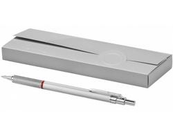 Kovové kuličkové pero Rotring LIVELY v exkluzivním designu - stříbrná