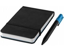 Malý zápisník Marksman ECHO REPORTER s propiskou v dárkové kazetě - černá