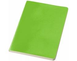 Zápisník v papírové vazbě JAIN, formát A5 - jemně zelená
