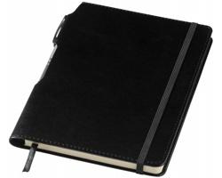 Zápisník WAYNESBORO se stříbrným perem, formát A5 - černá