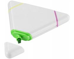 Trojúhelníkový zvýrazňovač CYMRU - bílá