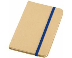 Příruční zápisník DOWSE, formát A6 - přírodní / královská modrá