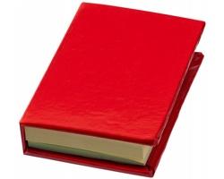 Samolepicí bločky LUDO v deskách - červená