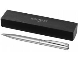 Lehké kuličkové pero Balmain HERCULE s leštěnou úpravou - stříbrná