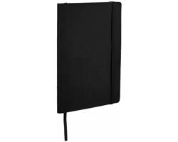Zápisník v měkkých deskách DOWEL, A5 - černá