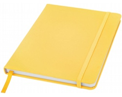 Poznámový blok KITH s elastickým zavíráním, A5 - žlutá