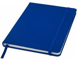 Poznámový blok KITH, A5 s elastickým zavíráním - královská modrá