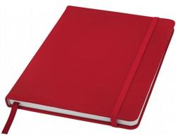 Poznámový blok KITH s elastickým zavíráním, A5 - červená