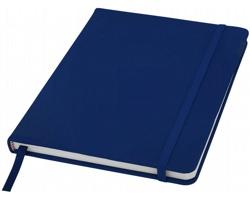 Poznámový blok KITH s elastickým zavíráním, A5 - námořní modrá