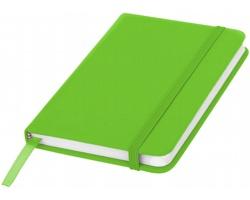 Klasický zápisník PIAN s elastickým popruhem, A6 - jemně zelená