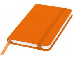 Klasický zápisník PIAN s elastickým popruhem, A6 - oranžová