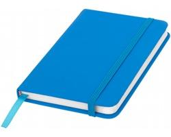 Klasický zápisník PIAN s elastickým popruhem, A6 - světle modrá