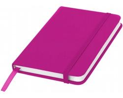 Klasický zápisník PIAN s elastickým popruhem, A6 - růžová