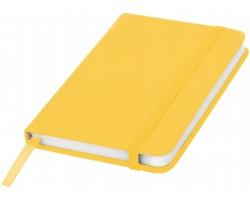 Klasický zápisník PIAN s elastickým popruhem, A6 - žlutá