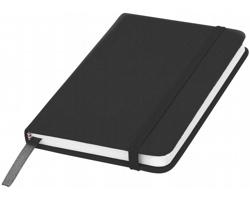 Klasický zápisník PIAN s elastickým popruhem, A6 - černá