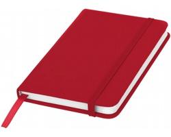 Klasický zápisník PIAN s elastickým popruhem, A6 - červená