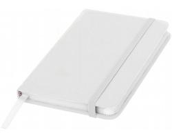 Klasický zápisník PIAN s elastickým popruhem, A6 - bílá