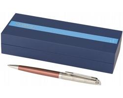 Kuličkové pero Waterman VINCI dekorované rytinou - světle červená