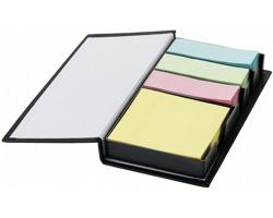 Samolepicí bločky WEIR v krabičce - černá