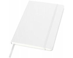 Kancelářský zápisník v pevných deskách SCAG, formát A5 - bílá