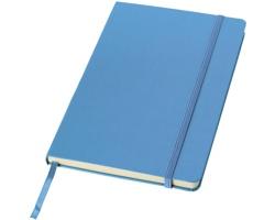Kancelářský zápisník v pevných deskách SCAG, formát A5 - světle modrá