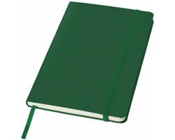 Kancelářský zápisník v pevných deskách SCAG, formát A5 - zelená