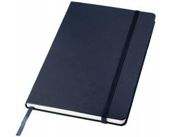 Kancelářský zápisník v pevných deskách SCAG, formát A5 - námořní modrá