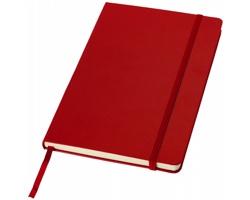 Kancelářský zápisník v pevných deskách SCAG, formát A5 - červená