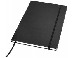 Manažerský zápisník s imitací kůže Journalbooks Classic, formát A4 - černá