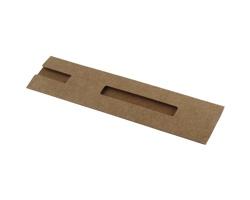 Lepenkové pouzdro na pero BOXES - přírodní