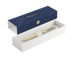 Kovové značkové kuličkové pero Waterman ALLURE BALLPOINT PEN v pastelových barvách - světle žlutá