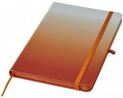 Poznámkový blok COMINGS s poutkem na propisku - oranžová