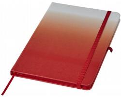 Poznámkový blok COMINGS s poutkem na propisku - červená