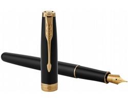 Kovové plnící pero Parker SONNETINO II - černá / zlatá