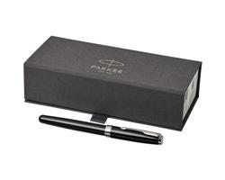 Kovové kuličkové pero Parker SONNETINO - černá / chromovaná