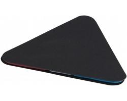 Samolepicí štítky ve tvaru trojúhelníku LORAN - černá