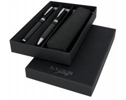 Sada karbonových psacích potřeb Luxe COUP s ochranným pouzdrem - černá