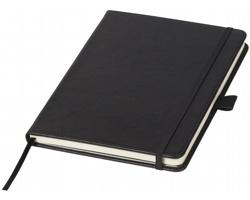 Vázaný zápisník Luxe JONESBURG s pevnými deskami, formát A5 - černá
