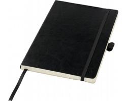 Poznámkový blok JADE s elastickým zavíráním, formát A5 - černá