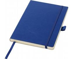 Poznámkový blok JADE s elastickým zavíráním, formát A5 - námořní modrá