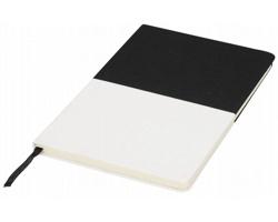 Plátěný poznámkový blok SPLAT, formát A5 - černá