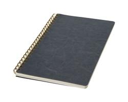 Linkovaný zápisník s kroužkovou vazbou HUTS, formát A5 - šedá
