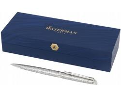 Značkové kovové kuličkové pero Waterman Hémisphere PORTAGE v dárkové krabičce - stříbrná