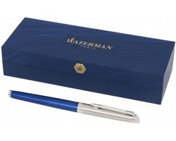 Značkové plnicí pero Waterman Hémisphere DELUXE PREMIUM v dárkové krabičce - modrá