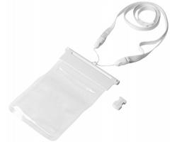 Vodotěsný obal na chytrý telefon NARCS - bílá / transparentní čirá