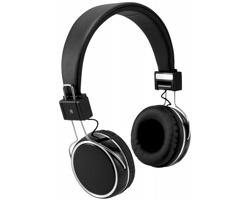 Skládací doteková sluchátka ILLY s bluetooth - černá