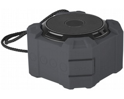 Venkovní bluetooth reproduktor Elevate HOOK s vysokou odolností - černá